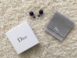 Dior Ear stud dark blue-gold-colored