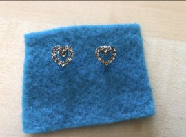 s.Oliver Ear stud silver-colored