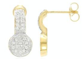 Vintage Zilveren oorbellen zilver