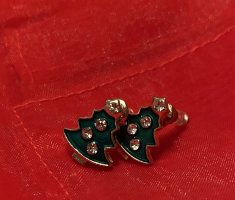 Accessorize Ear stud forest green