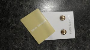 Michael Kors Ear stud gold-colored stainless steel