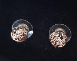 Ohrstecker aus Silberdraht