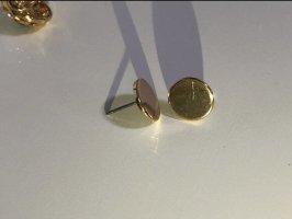 Kolczyk ze sztyftem złoto