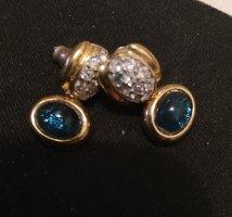 Ohrstecker  Ohrring blau