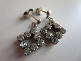 Vintage Ear stud silver-colored