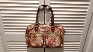 Oilily Handtasche mit Blumenprint in braun/beige