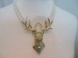 Sweet Deluxe Collar estilo collier color oro-blanco