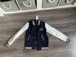 Sports Jacket dark blue-white