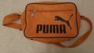 Oldschool Puma Umhängetasche Rarität Leder
