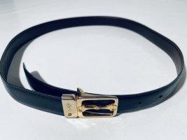 """""""Olimpo"""" Vintage-Gürtel - schwarzes Leder"""