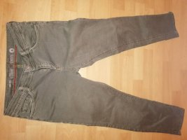 s.Oliver Jeans taille basse gris vert coton