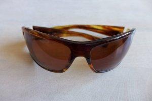 Oliver Peoples Occhiale da sole ovale marrone-marrone chiaro