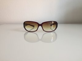 Oliver Peoples Occhiale da sole ovale marrone
