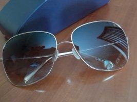 Oliver Peoples Gafas de sol ovaladas color oro-marrón grisáceo