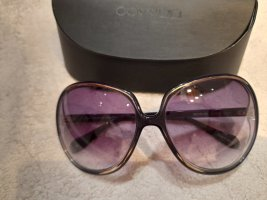 Oliver Peoples Occhiale da sole ovale grigio-lilla