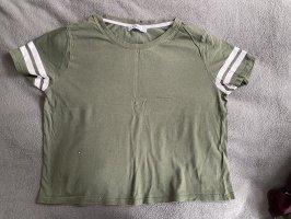 Olivfarbenes Shirt