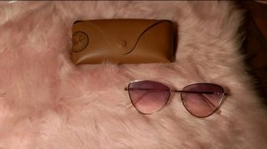 Lunettes or rose