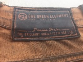 one green elephant Jeans in coolem Bronzeton