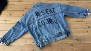 One teaspoon Free People Asos Denim Jacke Zara Jeans Blau