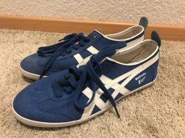 Onitsuka Tiger Sneaker, Gr. 38, blau-weiß, neu