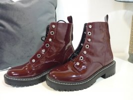Be only Chelsea Boot rouge carmin tissu mixte