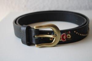 Only Cinturón de cuero de imitación multicolor