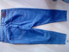 Only Hoge taille jeans azuur-korenblauw Katoen