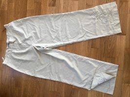 Only Pantalón de cintura alta beige claro