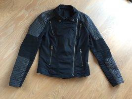 Only Bikerjack zwart-grijs