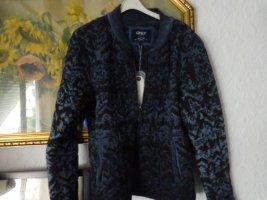 Only Bomber Jacket dark blue-blue mixture fibre