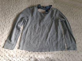 Only Shirt blau-weiss Schleife Gr. S neuwertig