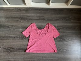 Only Blusa sin espalda rosa-rosa