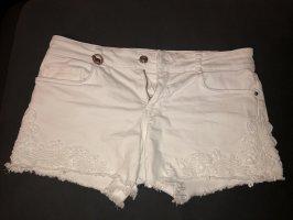 Only Pantalón corto blanco