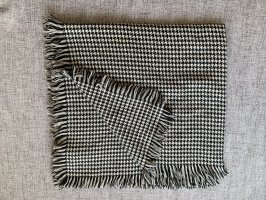Only Knitted Scarf white-black