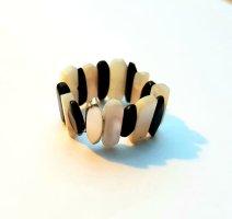 Onyx - Perlmutt - Silber Ring - Unisize - NEU