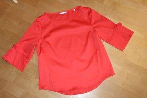 Opus Splendor Blouse red cotton