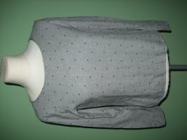 OPUS Bluse Gr. 36 Modell Fioretta Dot Grau