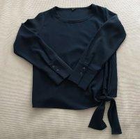 Opus Oversized blouse donkerblauw Polyester