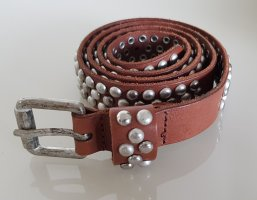 Opus Leather Belt cognac-coloured leather