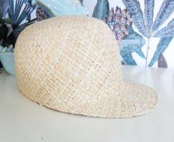 Opus Chapeau de paille crème-blanc cassé