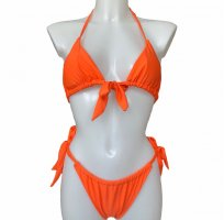 Unbekannte Marke Bikini oranje