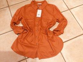 Orange Bluse von Warehouse, Gr.M