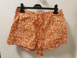 orange Shorts von TCHIBO