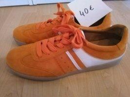 Gabor Lace-Up Sneaker white-orange