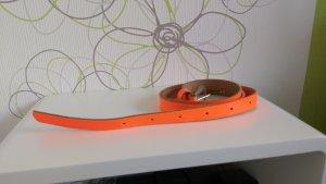 Petrol Industries Ceinture réversible orange fluo