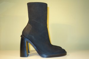 Ann Demeulemeester Booties black leather