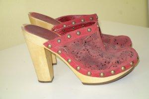 ASH Socque rouge-brun sable