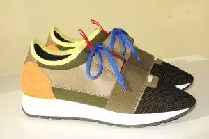 Org. BALENCIAGA Race Sneaker multicolour Gr.39 NEU