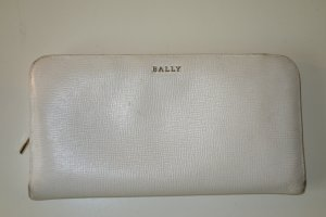 Bally Wallet white-cadet blue
