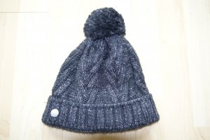 Bogner Fire + Ice Knitted Hat anthracite-light grey